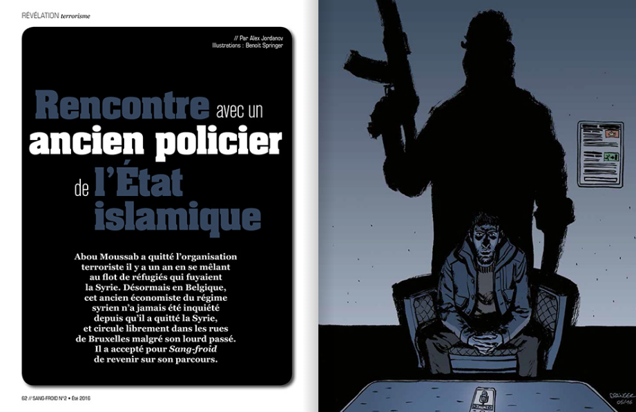 policier Etat islamique