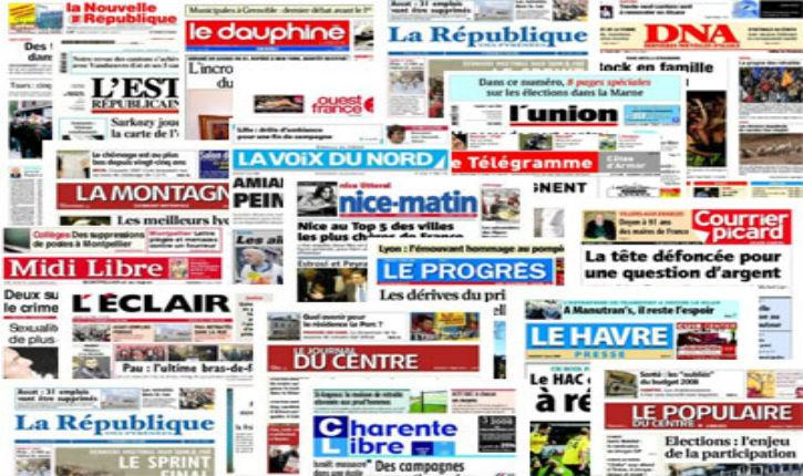 Attentat Tel Aviv : La presse régionale française charge Israël. Démonstration.