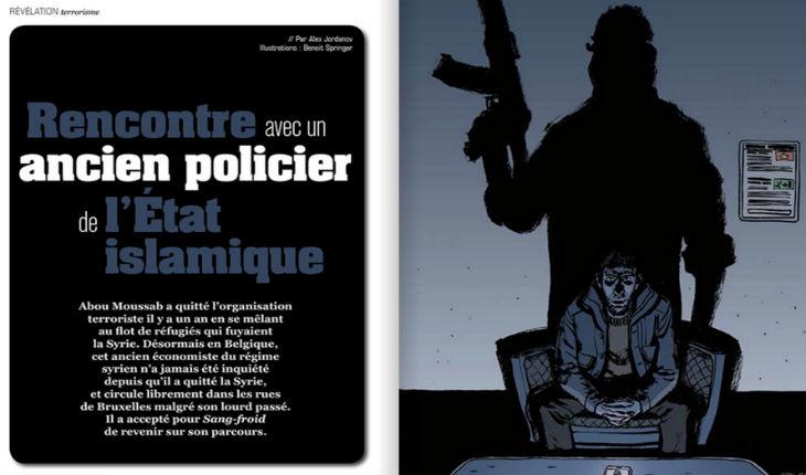 Révélations d'un ex-policier de l'Etat islamique réfugié en Belgique « La guerre ne fait que commencer !»