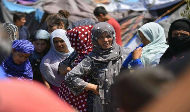 Selon l'étude de l'Ipsos, un Français sur deux et «54% de la population mondiale ne croient pas que les étrangers soient de vraisréfugiés»