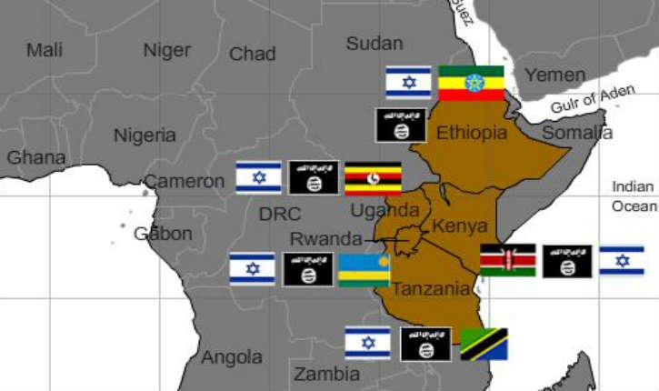 Israël au secours de six pays d'Afrique de l'Est contre le terrorisme islamiste