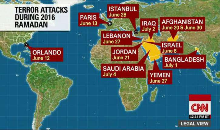 Terrorisme islamique : tri sélectif de la chaîne CNN