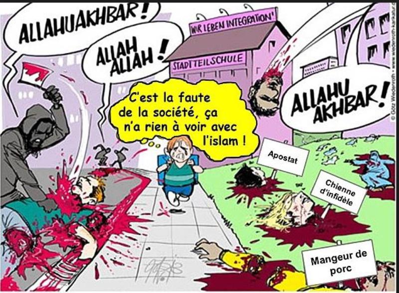 Avis de tempête pour les musulmans de l'Occident