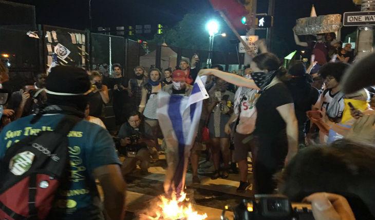USA: Un drapeau d'Israël brûlé en marge de la Convention démocrate