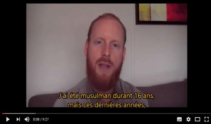 [Vidéo] Frère Ismaël:  «Pourquoi j'ai quitté l'islam»