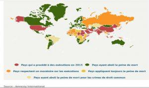 Peine de mort - hausse record des exécutions dans le monde en 2015
