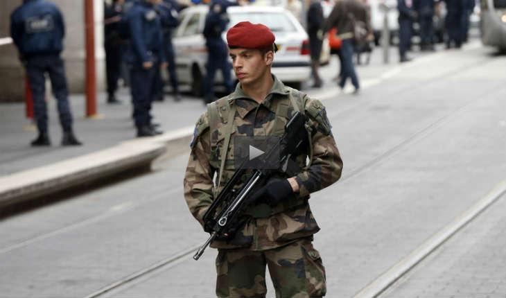 Un véhicule fonce sur des militaires de «l'opération Sentinelle» à Levallois-Perret