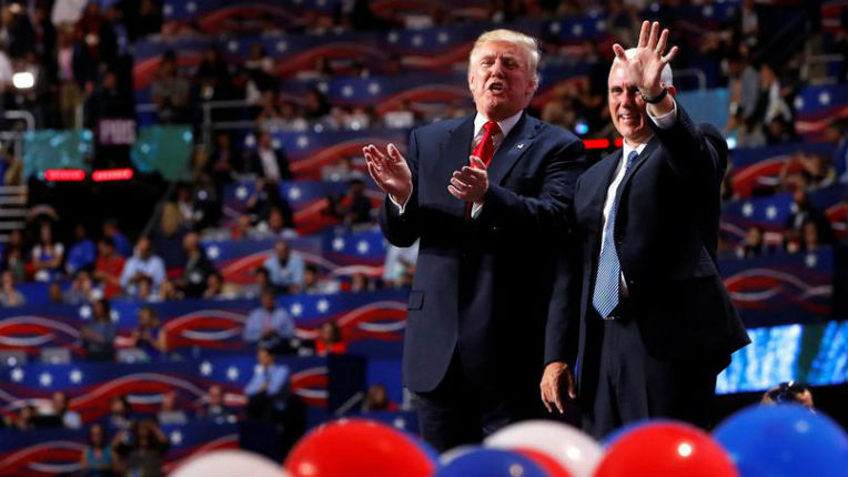 Donald Trump veut être «le combattant du peuple américain». Il promet à l'Amérique ordre et sécurité