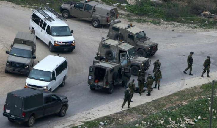 Israël, Judée Samarie: un palestinien tente d'attaquer au couteau un soldat israélien près de Naplouse