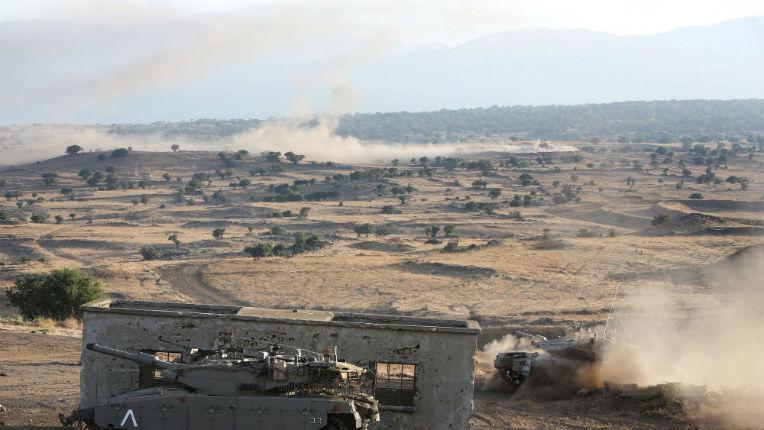 Israël frappe des cibles militaires syriennes après des tirs dans le Golan