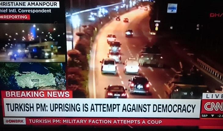 Chaos en Turquie