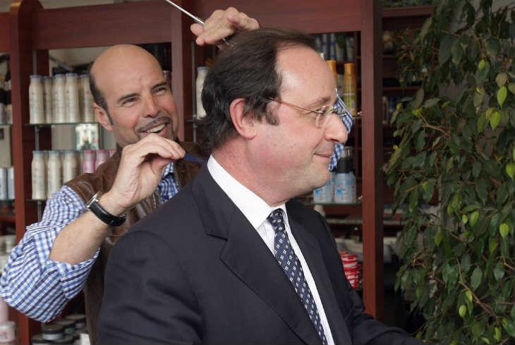 Le coiffeur personnel de François Hollande payé plus de 9.000 euros par mois