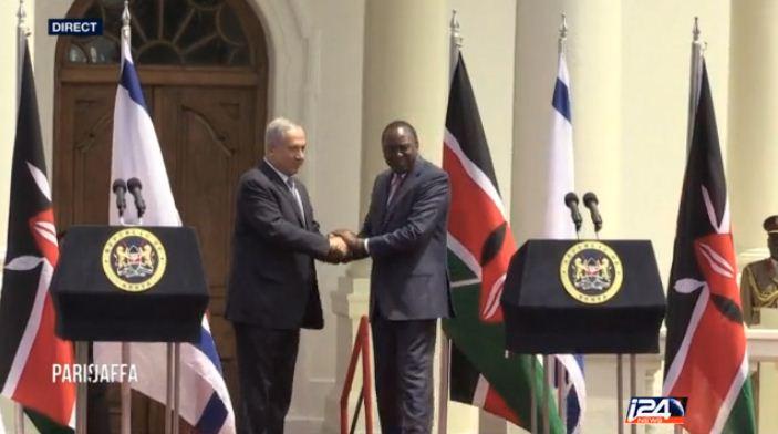 Kenya: le président kényan et Benyamin Netanyahou unis dans la lutte contre le terrorisme