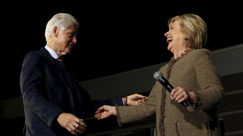 Ces Clinton que les médias français aiment tant : corruption, argent sale, utilisation du service public à des fins «très profitable» pour eux