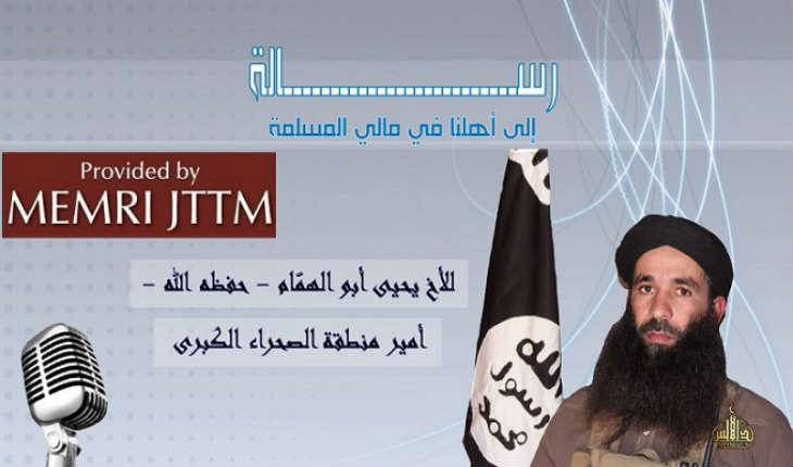 Dans un nouveau message audio, le commandant d'Al-Qaïda du Maghreb islamique au Mali menace la France et les Etats-Unis