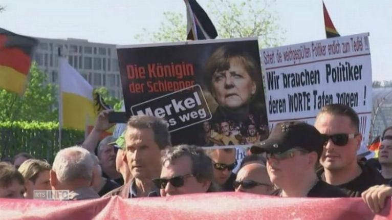 [Vidéo] «Merkel Démission» : manifestation de grande ampleur contre la politique migratoire en Allemagne