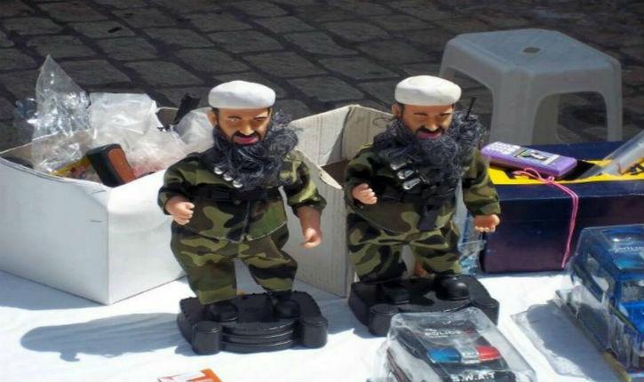 Des poupées de Ben Laden en vente libre en Tunisie