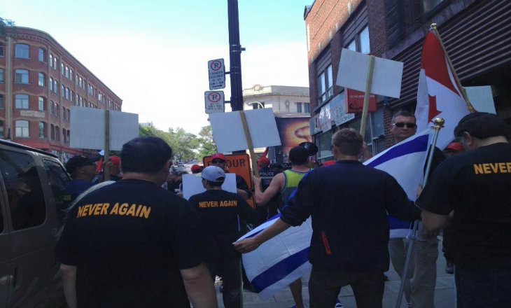 Montréal : Intervention efficace de la LDJ face aux antisémites du World social forum