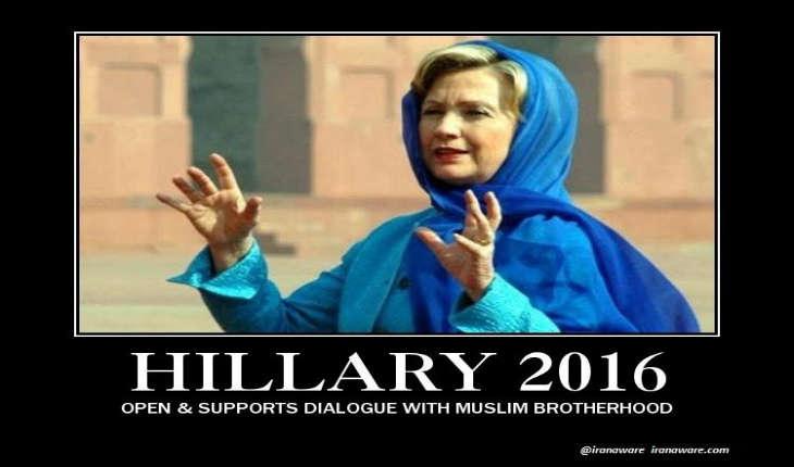 USA: Hillary Clinton, candidate de l'islam radical