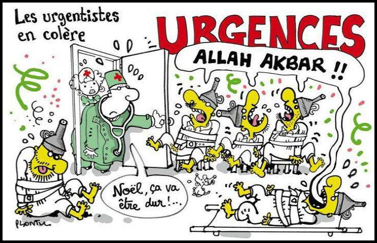 Grenoble: L'épidémie de déséquilibré continue, encore un «déséquilibré» qui termine au poste pour des coups et des insultes antisémites