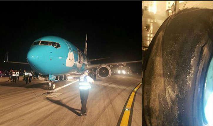 [Vidéo] Etat d'urgence à l'aéroport Ben Gurion, le vol de EL AL en direction de l'Ukraine a atterri en toute sécurité
