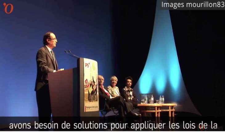 [Vidéo] Quand Hollande osait parler de Religion et de Laïcité dans l'espace public…..en 2011