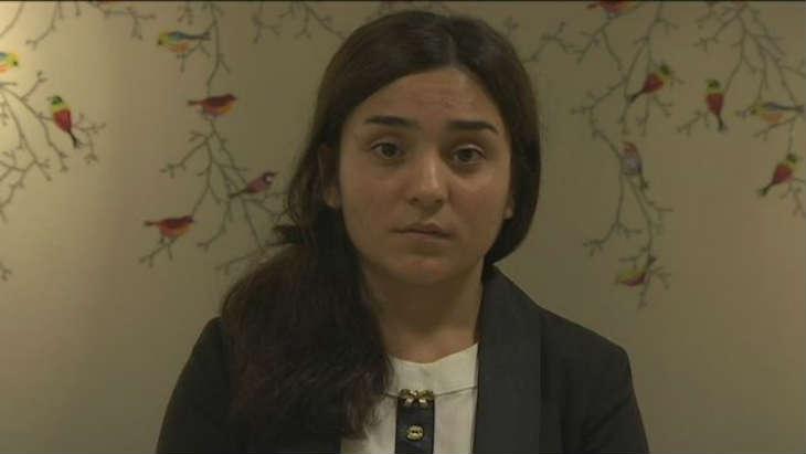 Pour échapper au viol de l'État islamique une Yézidie se brule le visage (Photos)