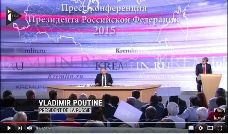 [Vidéo] Vladimir Poutine: «L'islamisme modéré, cela n'existe pas»