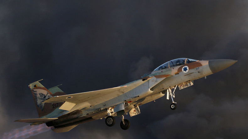 Israël bombarde la Syrie en riposte à des tirs de mortier sur le plateau du Golan