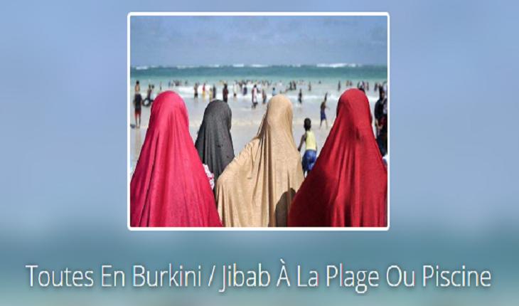 L'islam de paix montre son vrai visage: appel aux rassemblements politiques en birkini, jihab, hijed à la plage et à la piscine