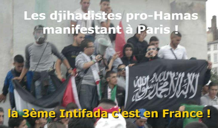 [Vidéo] Paris: L'organisation antisémite BDS manifeste son soutien aux terroristes palestiniens, malgré l'état d'urgence