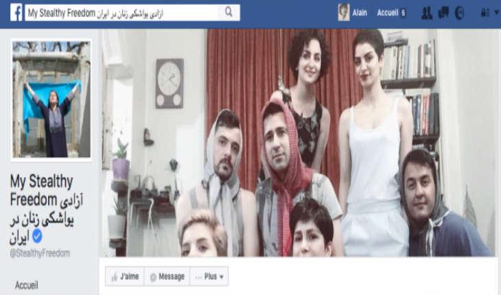 Alors même qu'en France les féministes se battent pour le droit à porter le voile, les Iraniennes se libèrent