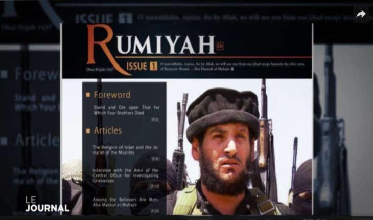 [Vidéo]Rumiyah, la nouvelle revue de propagande à la gloire du terrorisme de l'Etat Islamique