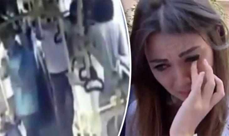 [Vidéo] Un musulman frappe à la tête une femme en short parce que «la loi islamique l'exigeait»