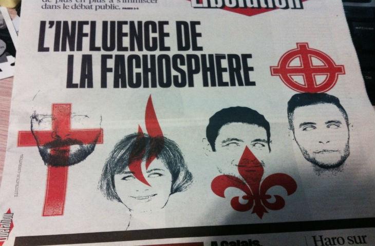 Pour les gauchistes de Libération, la croix chrétienne est le symbole de la «fachosphère»… les réactions fusent