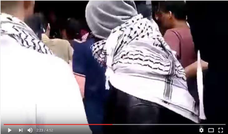 [Vidéo] Paris janvier 2016,des «manifestants» détruisent la ville sous couvert de soutien aux Palestiniens
