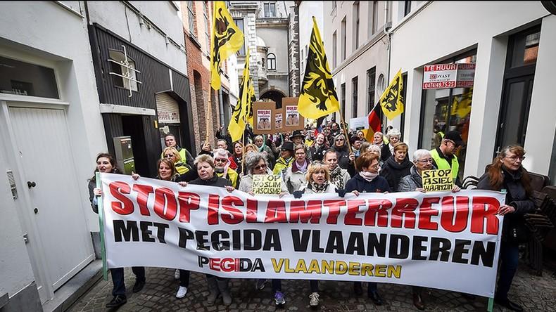Belgique: La branche belge du mouvement anti-migrants Pegida appelle à créer des patrouilles de surveillance