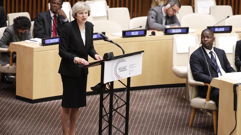 Theresa May, première ministre britannique est 100% pro-israelienne