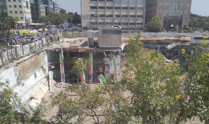 BREAKING NEWS – Accident en Israël : Effondrement sur un chantier à Tel-Aviv, 2 morts, 24 blessés. Vidéos