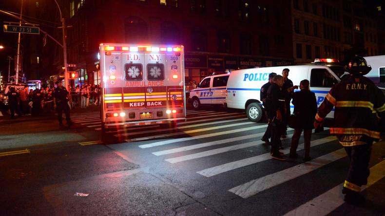 Attentat à New York : Une bombe cachée dans une poubelle fait 29 blessés. Une seconde bombe désamorcée