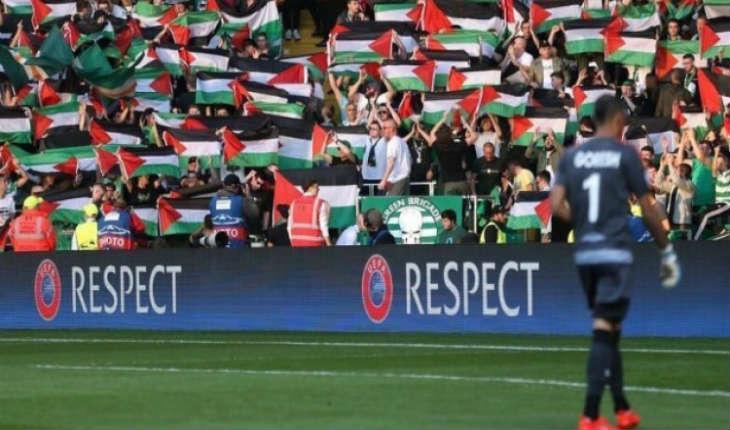 Football: Le Celtic sanctionné par l'UEFA pour utilisation inappropriée de drapeaux palestiniens