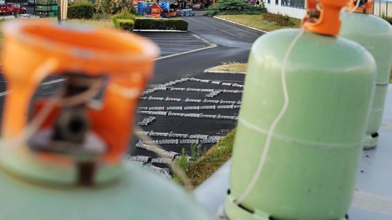 Nice : trois bonbonnes de gaz abandonnées devant une école