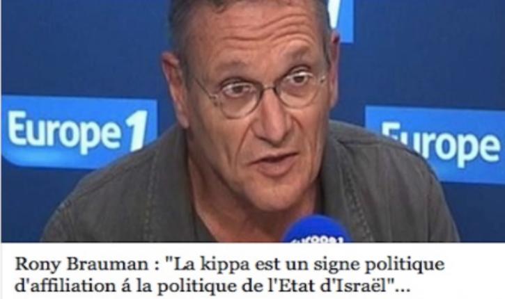Le CSA condamne les propos anti-israélien et anti-juif tenus par Rony Brauman sur Europe 1