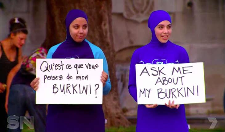 Une touriste Australienne «atterri» sur nos plages en burkini par solidarité avec ses «sœurs» et pour «prouver» l'islamophobie des Français!