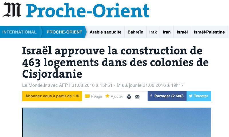 Comment les journalistes français vous manipulent en collant systématiquement le mot «colon» à israélien ou juif…