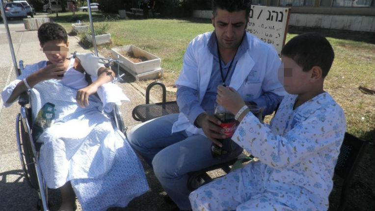Des dizaines d'enfants syriens blessés sont soignés en Israël