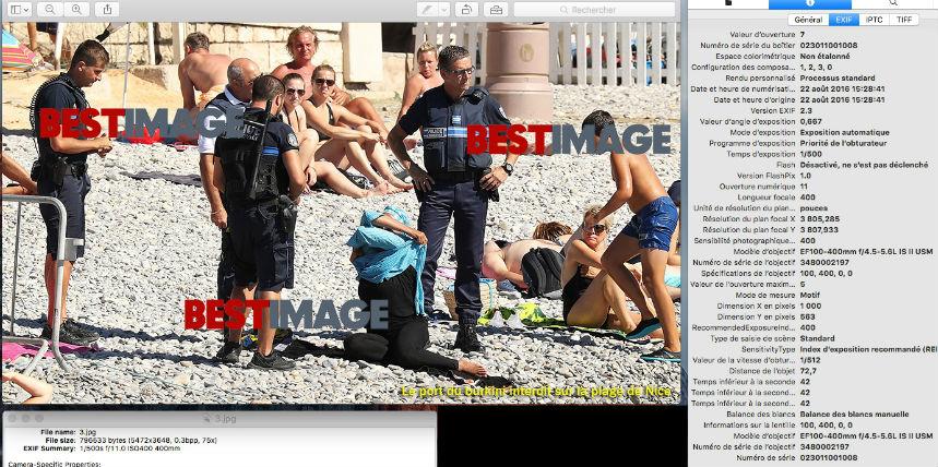Femme voilée sanctionnée sur la plage de Nice : Un scoop organisé et provoqué ?
