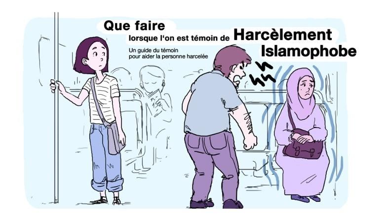 France : Un nouveau guide illustré pour réagir en cas de «harcèlement islamophobe», mais aucun guide face au racisme anti-français