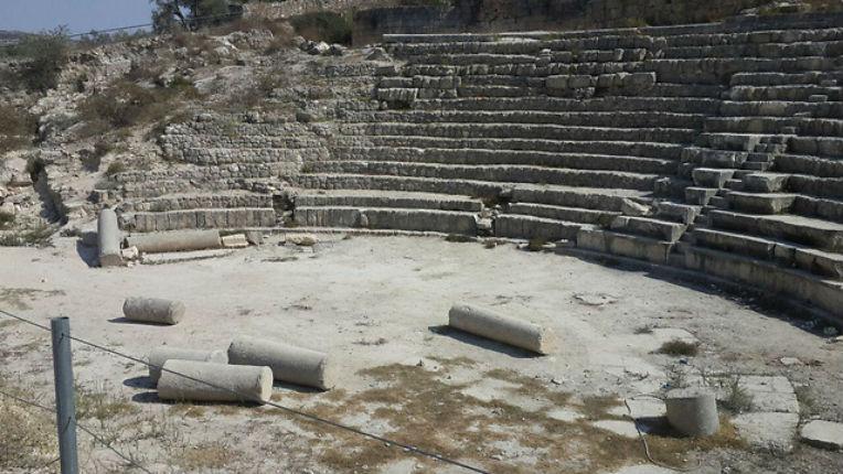 Un site archéologique, ancienne capitale du peuple Juif en Samarie, vandalisé par des Arabes