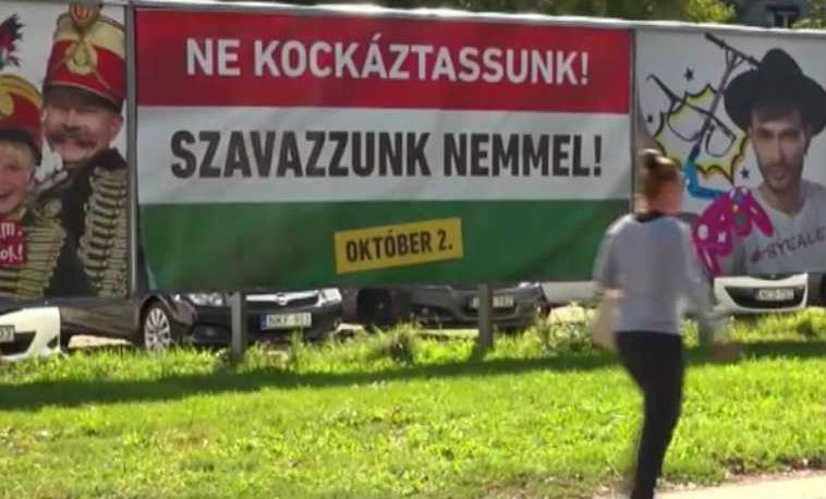 [Vidéo] La Hongrie ne veut pas des réfugiés : Plébiscite attendu pour le référendum anti-migrants de Viktor Orban